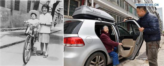 过去与现在:中国人民生活40年的变化