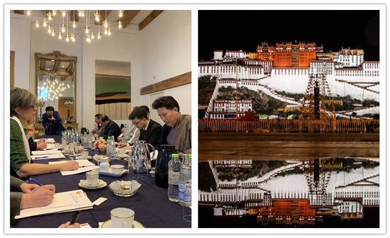 Chinese NPC Tibetan delegation visits Denmark, expounds major achievements in Tibet