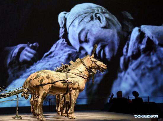 兵马俑的地标性展览在新西兰开幕