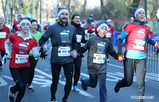 Zagreb Advent Run held to raise funds for fighting diabetes