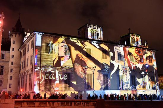 Traditional arts meets modern tech at Lyon Festival of Lights