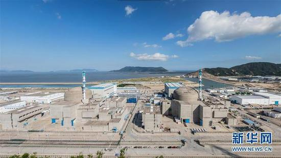 File photo of  Taishan nuclear power plant. (Photo/Xinhua)