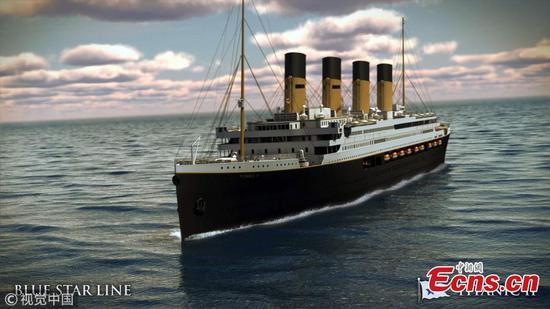 泰坦尼克号II计划于2022年起航