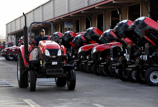 Farm machine imports gain wider market