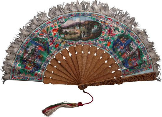 Guangzhou fan exhibit showcases craftsmanship