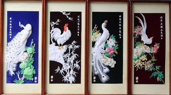 Zunyi grass-stack painting: Essence of traditional culture
