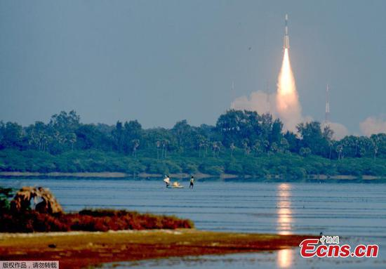 India launches military communication satellite GSAT-7A