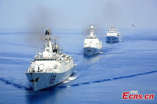 Chinese Navy escort voyages fruitful for ten years
