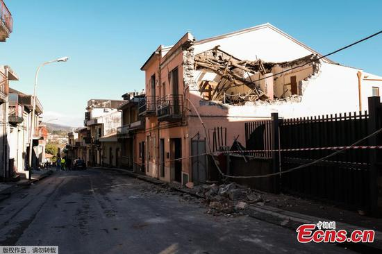 Mount Etna: 4.8-magnitude earthquake jolts Sicily