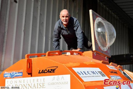 Frenchman, 71, attempts to reach Caribbean in a barrel