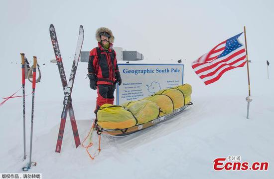 Oregon man becomes first person to cross Antarctica solo