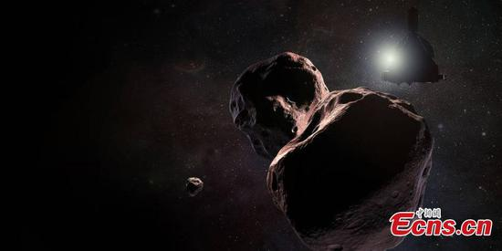 NASA probe survives flyby of Ultima Thule