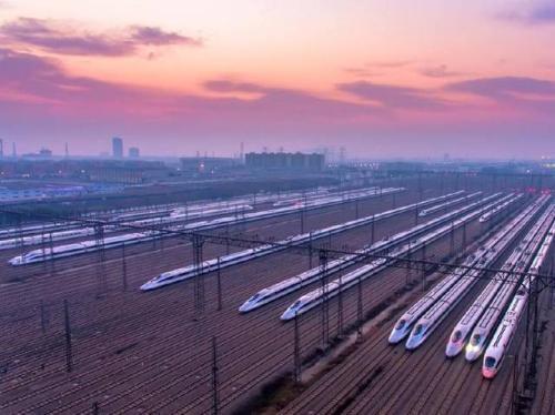 China's railway network spans 131,000 km