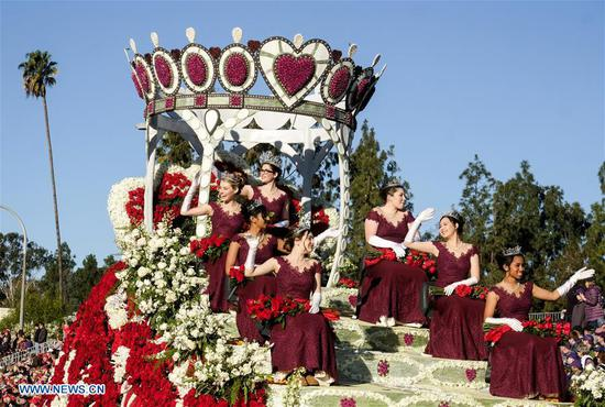 130th Rose Parade held in Pasadena, California