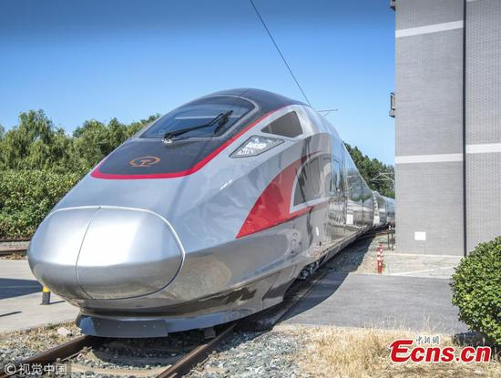 China's 350-kph Fuxing bullet trains to go driverless