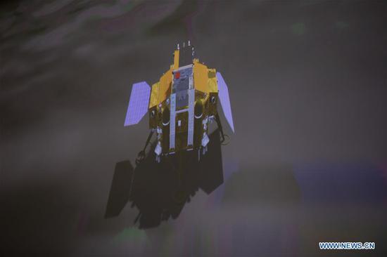 e娥四号探测器软着陆在月球的另一侧