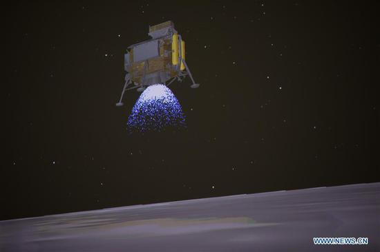 Breathtaking 12 minutes for Chang'e-4's landing
