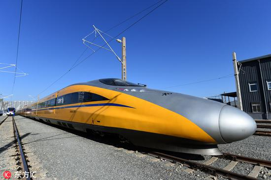 China leads into era of automated trains