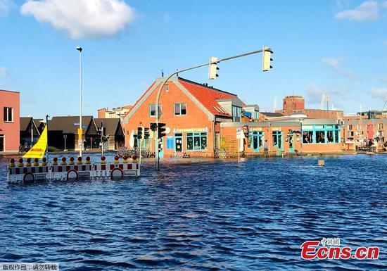 洪水袭击了德国的世界遗产