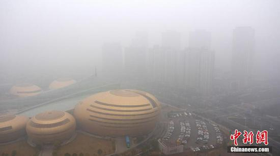 Henan issues red alert for air pollution