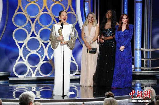 Golden Globes kick off Hollywood's award season