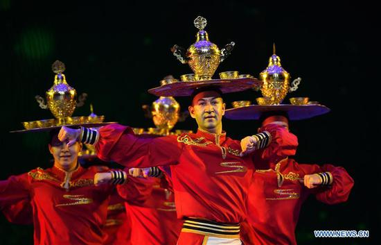 China's top award for dancing art holds ceremony in Haikou