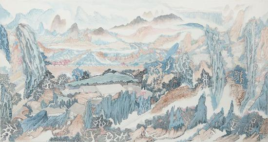 Shanghai painter's works show a fairy world