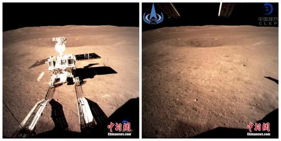 Int'l payloads on Chang'e-4 start operation
