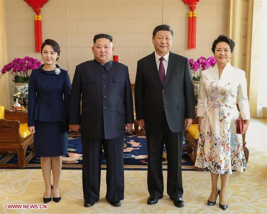 Xi Jinping, Kim Jong Un hold talks