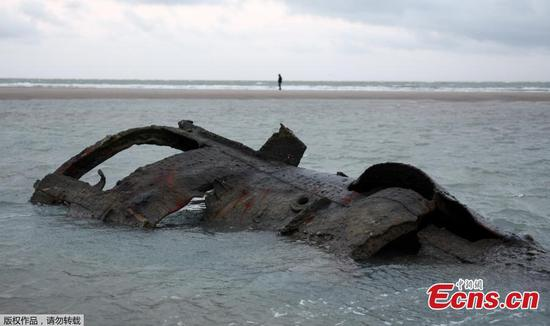 Sunken German submarine in 1917 resurfaces in France