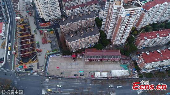 Shanghai moves entire 116-year-old building 235 meters