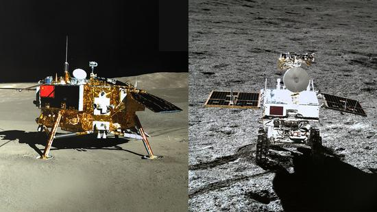 China's Chang'e-4 lander, rover photograph each other, marking success of mission