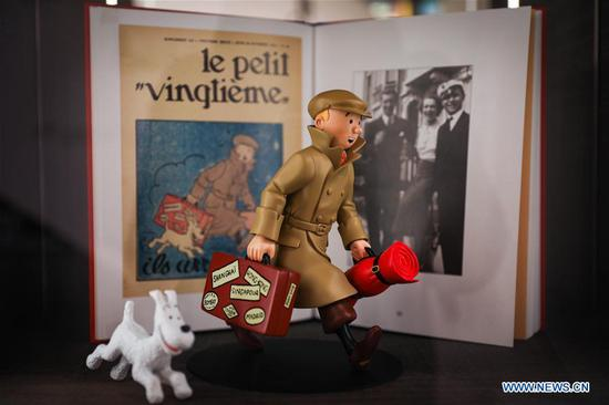 90th anniversary of 'The Adventures of Tintin' celebrated in Belgium