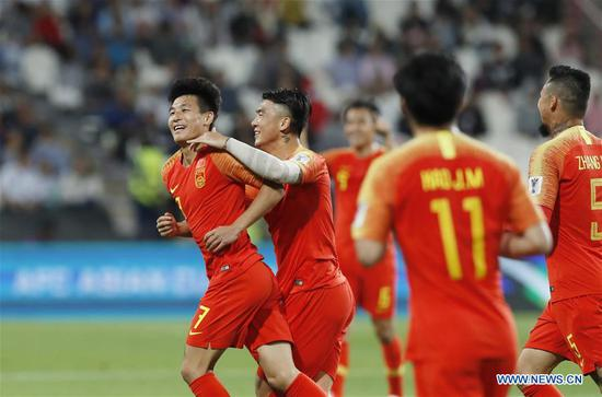 Wu Lei scores twice to lift China to 3-0 win over Philippines