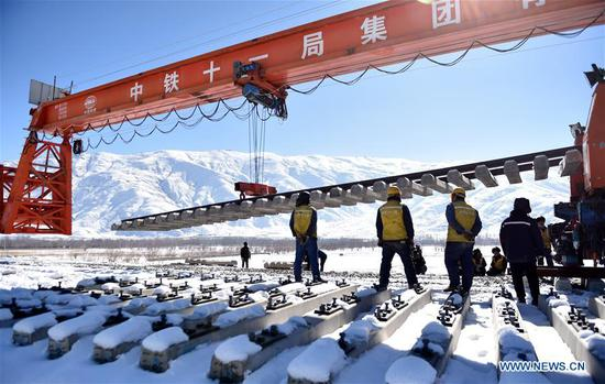 Tibet to strengthen railway construction in 2019