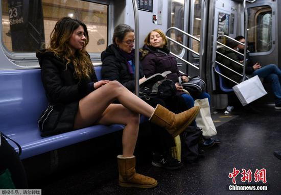 No Pants Subway Ride around the world