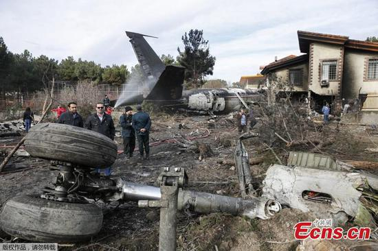 At least 7 killed in cargo plane crash in northern Iran