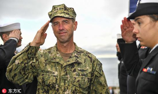 U.S. admiral's trip an opportunity to have results-focused dialogue