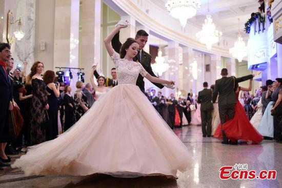 Big New Year Ball in Minsk
