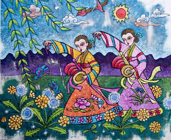Art tradition brings unexpected fame to northeast China
