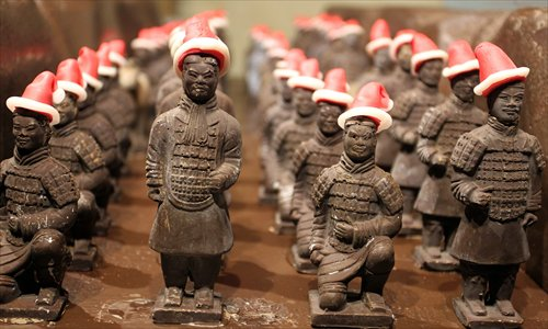 Uneaten chocolate Terracotta Warrior sparks online trip down memory lane