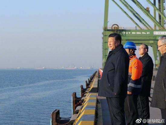President Xi says transportation vital to economic development