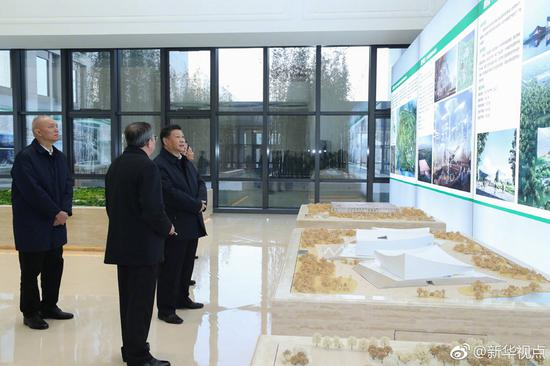 President Xi inspects Beijing's sub-administrative center