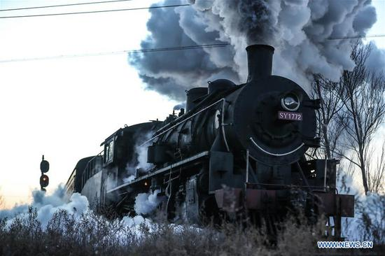 5-day steam locomotive tourism event kicks off