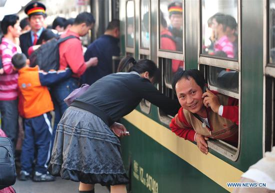 Chinese people's memory of Spring Festival travel rush