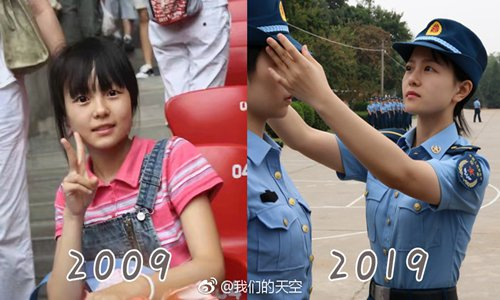 Netizens reflect on nation's achievements in past decade amid online '10-year Challenge'