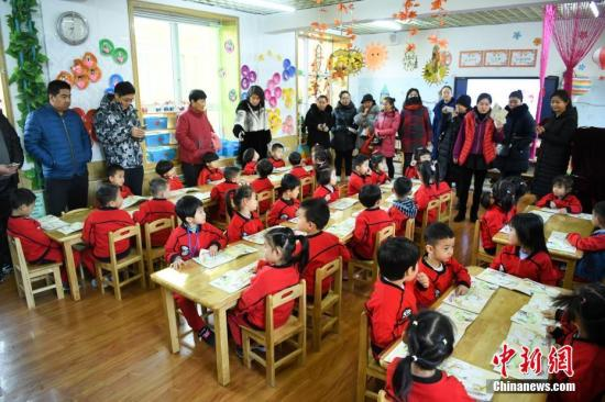 China regularizes kindergartens affiliated to urban communities