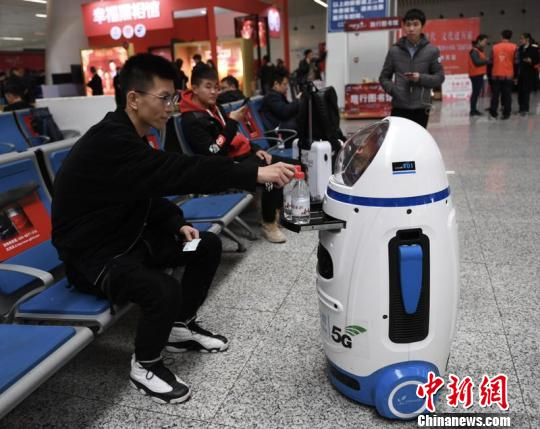 Smart tech to ensure Spring Festival travel safer, easier