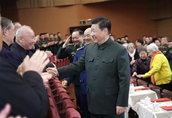 Xi extends Spring Festival greetings to military veterans