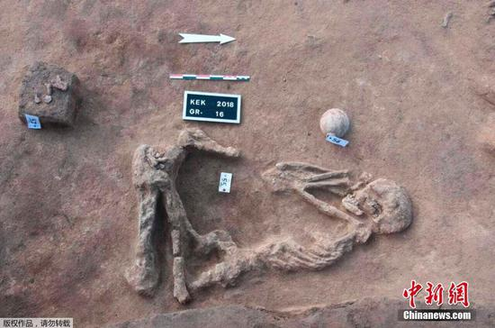 Ancient tombs discovered in Egypt